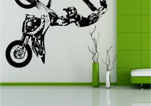 Motocross Wall Murals Free Shipping Stunt Bike Motorbike X Games Mx Motorcross Dirt Bike