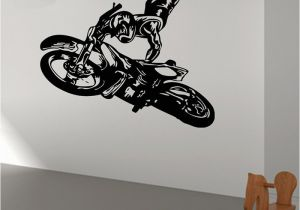 Motocross Wall Murals Poomoo Wall Decals Hot Cartoon Wall Decal Sticker Vinyl Motocross
