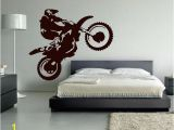 Motorbike Wall Murals for Boys Room Kids Bedroom Decor Wall Art Decoration Motorbike Wall