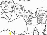 Mount Rushmore Coloring Page 12 Best President S Day Coloring Sheets Images On Pinterest