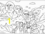 Mount Rushmore Coloring Page 54 Best Mount Rushmore Images On Pinterest