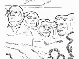 Mount Rushmore Coloring Page Mt Rushmore National Park Coloring Page Tutoring