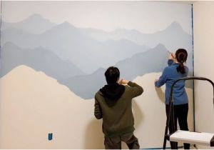 Mountain Mural Wall Art How to Paint A Mountain Mural On Your Bedroom or Nursery