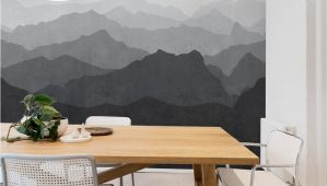 Mountain Mural Wall Art Wallpaper Mountain Mural Wall Art Wallpaper Peel and Stick
