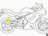 Mouse and the Motorcycle Coloring Pages Ducati Sportbike Motorcycle Line Coloring Page