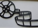 Movie themed Wall Murals Metal Wall Art Movie theater Home Decor Movie Reel $29 99