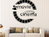 Movie themed Wall Murals Vinyl Wall Decal Cinema Movie Cinemaddict Stickers