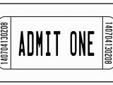 Movie Ticket Coloring Page Free Train Ticket Template Download Free Clip Art Free