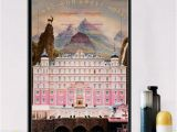 Movie Wall Murals Posters 2019 J041 New the Grand Budapest Hotel Classic Movie Gift Wall Art Decor Painting Poster Prints Canvas From Hariold $34 46
