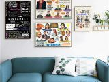 Movie Wall Murals Posters Cartoon Riverdale Quotes Posters and Prints Wall Art Canvas