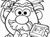 Mr and Mrs Potato Head Coloring Pages Kids N Fun