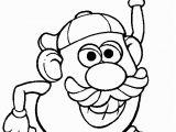 Mr Potato Head Printable Coloring Pages Mr Potato Head 014 Coloring Page Free Mister Potato