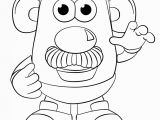 Mr Potato Head Printable Coloring Pages Mr Potato Head Coloring Page