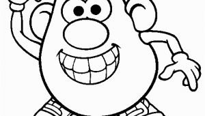 Mr Potato Head Printable Coloring Pages Mr Potatohead Coloring Page Print Mr Potatohead