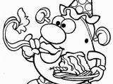 Mr Potato Head Printable Coloring Pages Printable Mr Potato Head