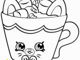 Mug Coloring Page Printable Printable Shopkins Coloring Pages Design Templates