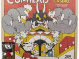 Mugman and Cuphead Coloring Pages Mcfarlane toys Cuphead Chaotic Casino Construction Set