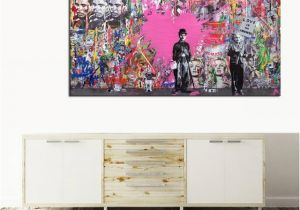 Muhammad Ali Wall Mural Boxing Muhammad Ali Wall Art Canvas Painting Love is Answer Pop Art