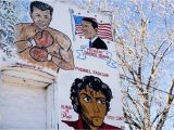Muhammad Ali Wall Mural Gallery Chicago S Political Murals
