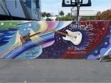 Mural Artist Los Angeles Here S A Cool Guitar Mural Of Famous Rock Legends by Famous Local