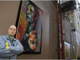 Mural Artist Wanted the Art Of Sam Prifogle New Library Exhibit to Highlight Local