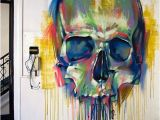 Mural Artists for Hire Art This Skull is Awesome Art Pinterest