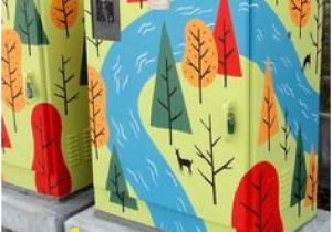 Mural Artists Wanted 37 Best Electric Utility Box Ideas Images