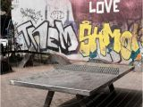 Mural Arts Wall Ball 2018 Ping Pong Love Stadt Ein Lizenzfreies Stock Foto Von Case