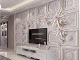Mural Canvas Wall Covering 3d Custom 3d Wallpaper Walls for Living Room Hotel Mural Stereo