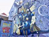 Mural On A Wall Blind Walls Gallery Mural at Mols Parking Achter De Lange