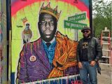 Mural Painter Nyc Biggie by Sacsix In Nyc Street Art In 2018 Pinterest