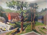 Mural Painter Wanted before & after Paint by Number Wall Mural Pinterest