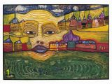 Mural Painter Wanted Paintings Hundertwasser Irinaland Sur Les Balkans 1969 I Wanted to