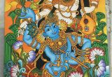 Mural Painters Near Me It S Madhubani Radha Krishna Painting