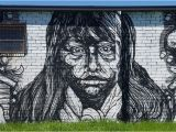 Mural Painting atlanta Black and White Street Art and Murals Pinterest