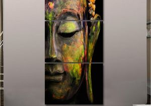Mural Painting Companies 2019 2017 Hd Printed Canvas Wall Art Buddha Meditation Painting