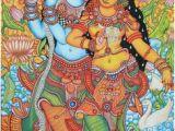 Mural Painting In India 1013 Best Kerala Mural Paintings Images In 2019