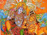 Mural Painting In India Kerala Mural Kerala Mural