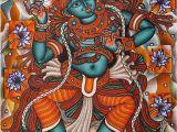 Mural Painting In India Kolkata Art House Krishna Art In 2019