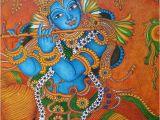 Mural Painting In India Krishna Mural Painting Krishna Kerala Murals