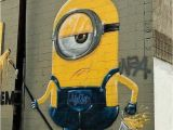 Mural Painting Los Angeles Minion Street Art Street Art Graffiti & Murals