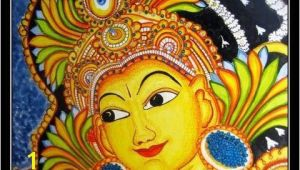Mural Painting Materials Kerala Mural Paintings are Frescos Strictly Using Naturally