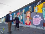 Mural Painting On Concrete Wall East Side Gallery – Berlin