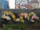 Mural Painting On Concrete Wall Street Art at Teufelsberg Berlin Bild Von Berlin