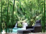 Mural Paints Supplies Custom 3d Wall Murals Wallpaper Bamboo forest Natural Landscape Art