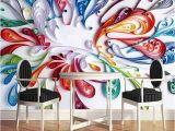 Mural Paints Supplies Custom Mural Wallpaper High Quality Modern Fashion Simple 3d
