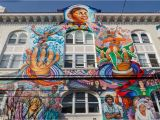 Mural tour San Francisco Art Deco Mural In the Mission District San Francisco
