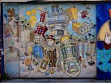 Mural tour San Francisco Victorian 2007 by Sirron norris — the Mission