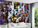 Mural Wall Art Decor Custom Mural Wallpaper Street Art Graffiti Design Bar Cafe