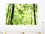 Mural Wall Art Stickers Amazon Wallmonkeys Bamboo Wall Mural Peel and Stick
